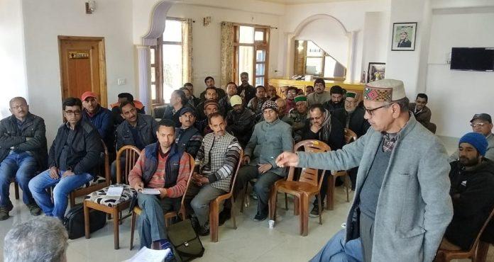 Himachal Kisan Sangharsh Samiti meeting 2019