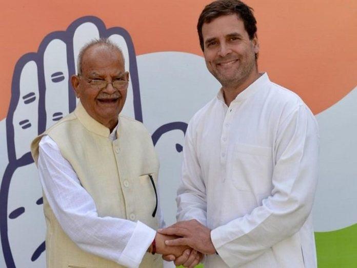 Pandit Sukhram Joins Congress Again