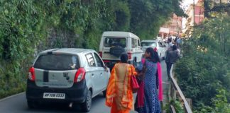 Speed limit on shimla's restricted roads