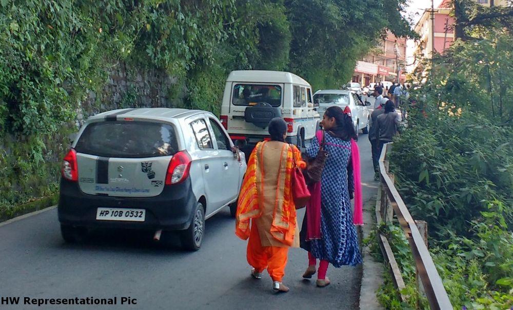Speed limit on shimla's restricted roads