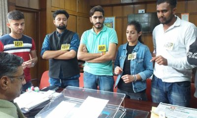 ABVP demand reducing parssing percentage of ug students