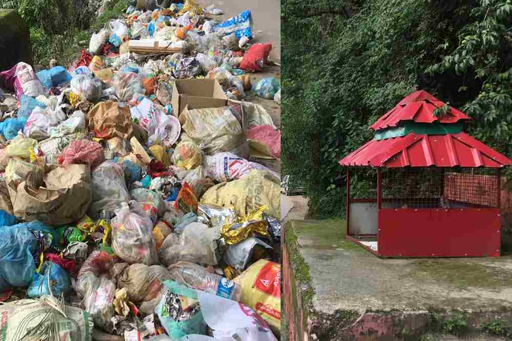 Littering in Mandi district