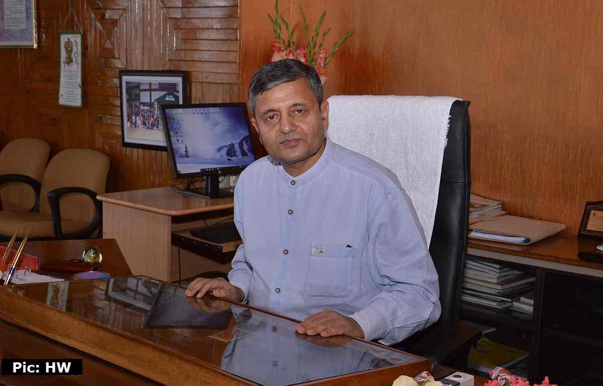 UHF nauni's new VC Dr Parvinder Kaushal