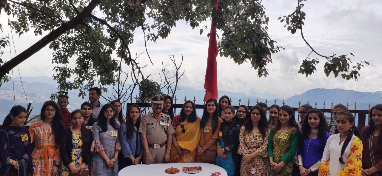 ABVP Celebrates Raksha Bandhan With SSB Shimla 2