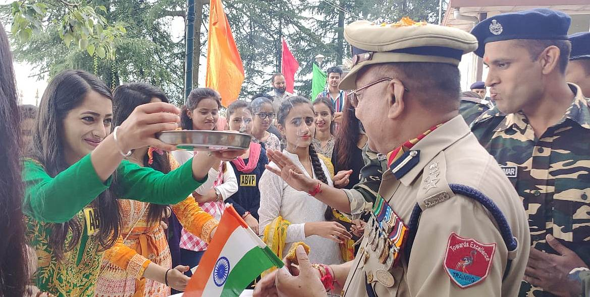ABVP Celebrates Raksha Bandhan With SSB Shimla 5