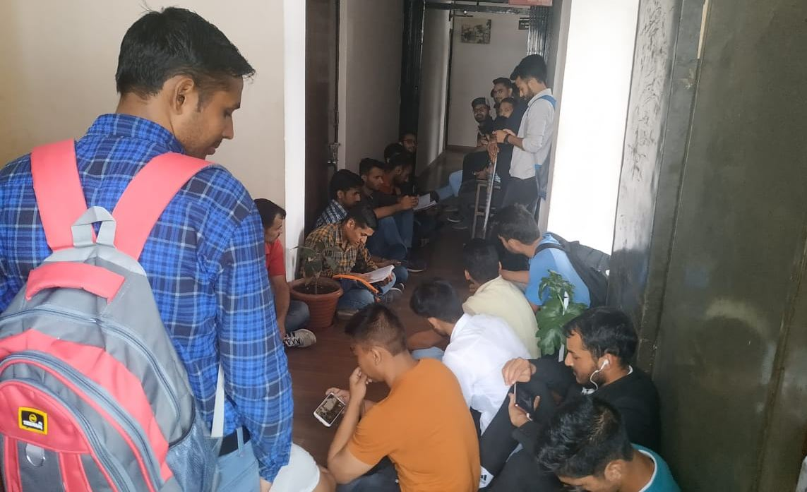 HPU Hostel Student Protest 2