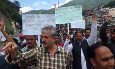 Protest in Rohru
