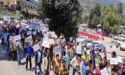 protest in kinnour