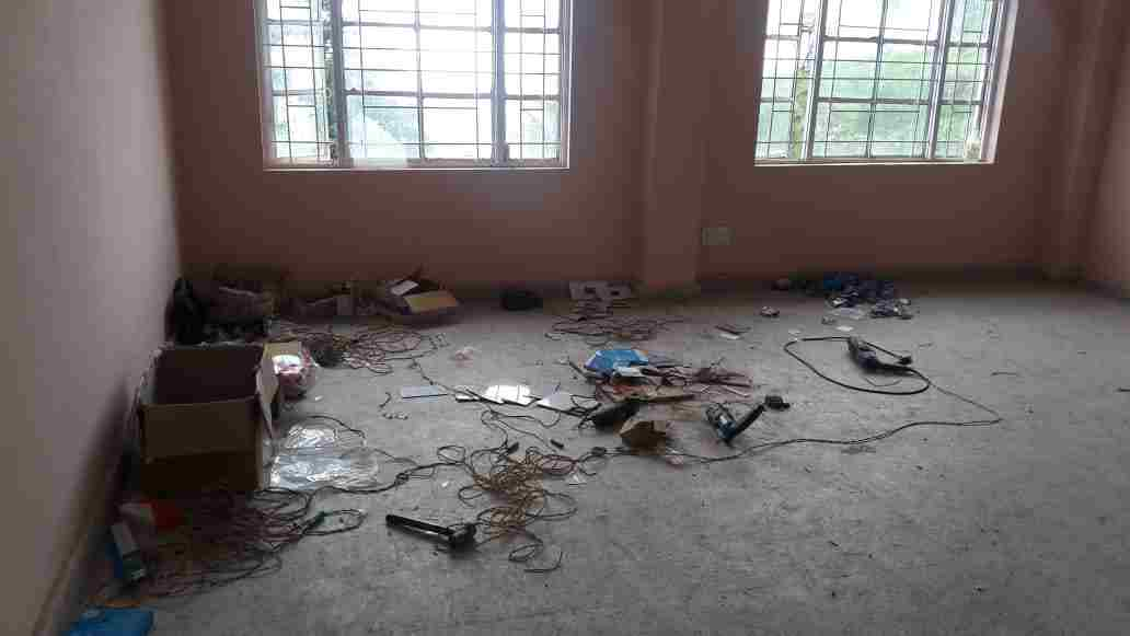incomplete phc building rajgarh sirmour