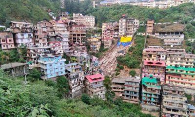 Multi-storey buildings in Shimla