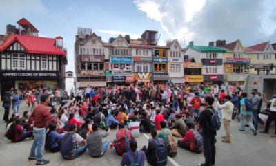 himachal kisan sbha protest